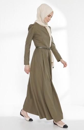 Robe Hijab Khaki 3159-14