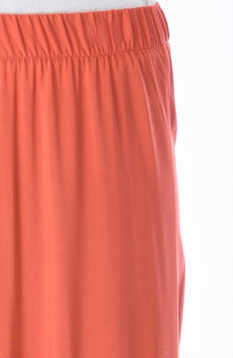 Pantalon Large Taille élastique 25063-01 Coquille D ognion 25063-01