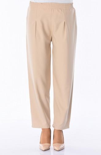 Pantalon Taille élastique 5272-02 Beige 5272-02
