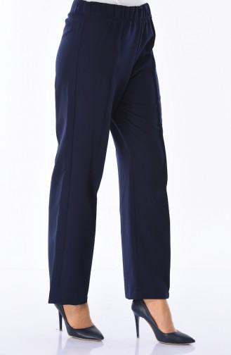 Pantalon élastique 2080-04 Bleu Marine 2080-04