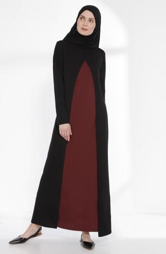 Robe 2895-02 Noir Bordeaux 2895-02