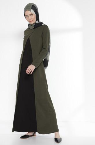 Robe 2895-15 Vetr Khaki Noir 2895-15