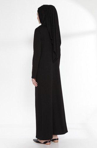 Robe 2895-06 Noir Pourpre 2895-06