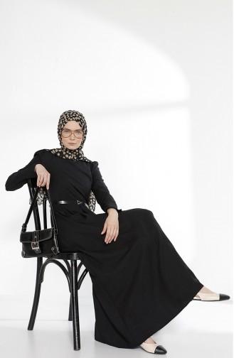 توبانور فستان بتصميم حزام للخصر 2781-12 لون أسود 2781-12