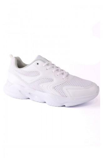 Chaussures Sport Letoon Pour Femme LEVA-04 Blanc Blanc 04
