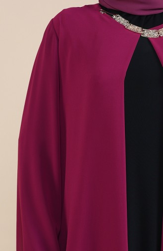 Habillé Hijab Plum 2421-03