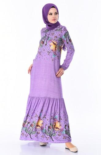 Lilac İslamitische Jurk 8Y3840800-02