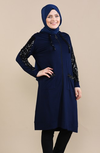 Navy Blue Tunic 1181-05