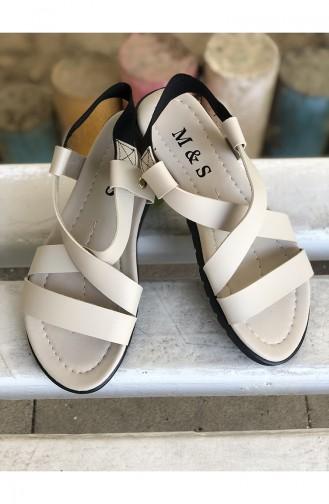 Beige Summer Sandals 21-03