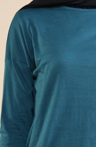 Body Manches Longue 10291-03 Vert emeraude 10291-03