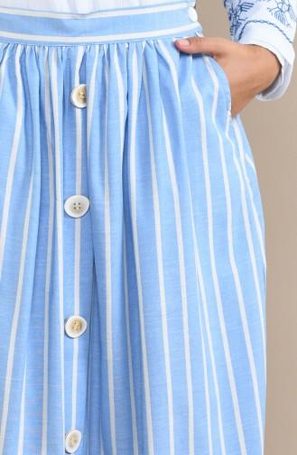 Blue Skirt 5026-02
