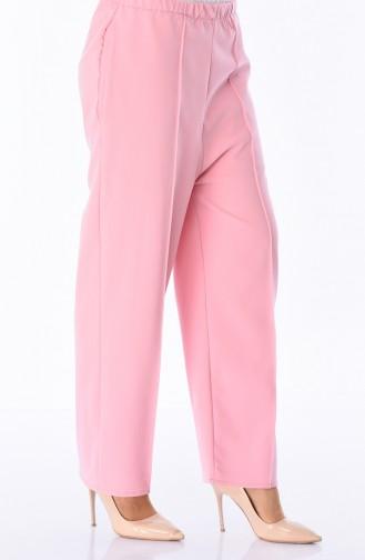 Schlaghose mit Gummi  5223-01 Pink 5223-01