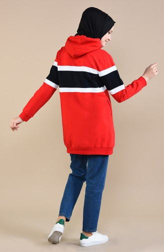 قميص رياضي أحمر 3468-02