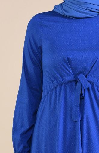 Tunique Coton 1232A-01 Bleu 1232A-01