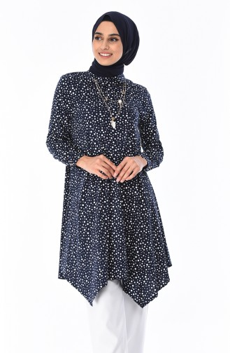 Navy Blue Tunic 5016A-01
