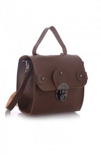 Tobacco Brown Shoulder Bag 15Z-07