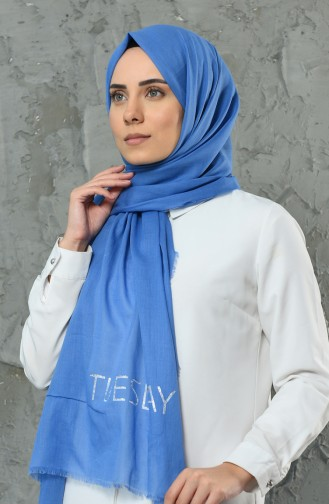 Light Blue Sjaal 901498-19
