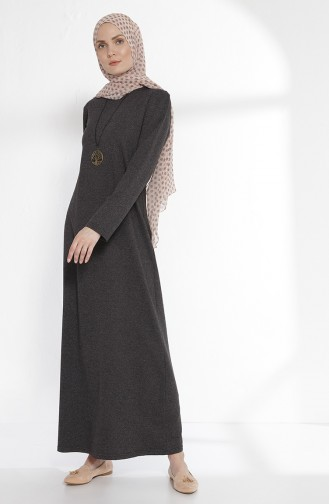 Robe avec Collier 2779-03 Antracite 2779-03