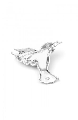 925 Silver BroscheANYZK-BROS-013Silver 013