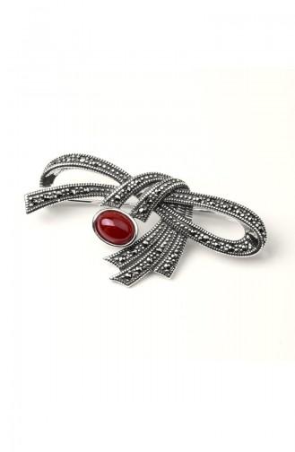 Red Breastpin 022