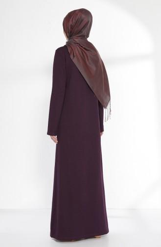 Purple İslamitische Jurk 2779-08