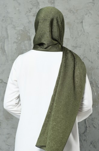Khaki Shawl 2308-04