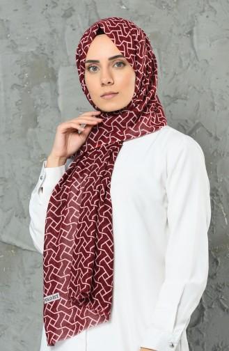 Claret red Shawl 2315-11