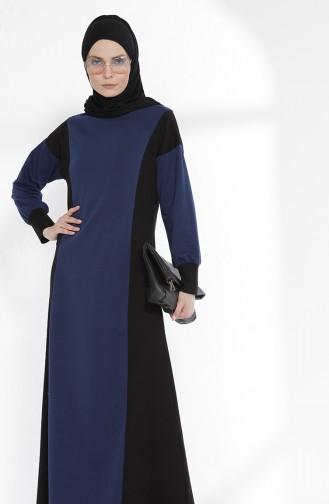 Robe Garnie 2941-05 İndigo Noir 2941-05