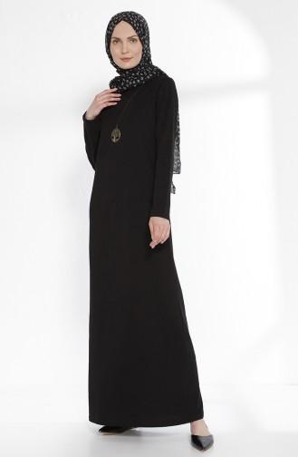 Black İslamitische Jurk 2779-06
