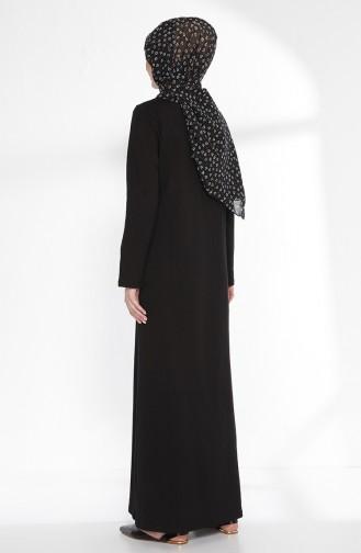 Robe avec Collier 2779-06 Noir 2779-06