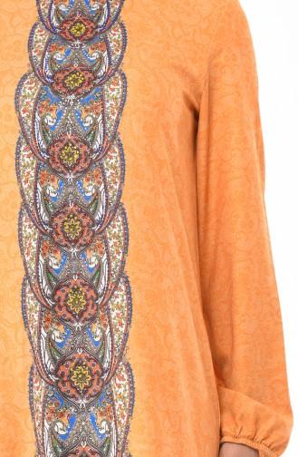 فستان أصفر خردل 6Y3608430-01