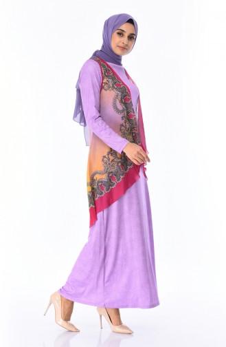 Lilac Dress 6Y3612302-02