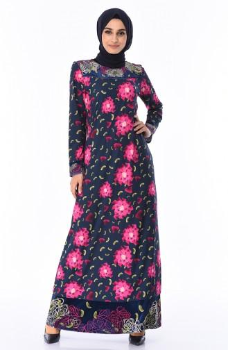 Navy Blue Dress 7Y3716800-02