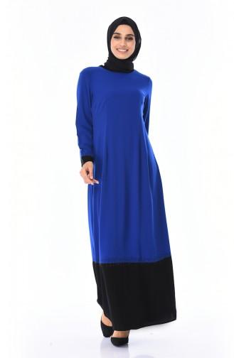 Saxon blue İslamitische Jurk 7Y3728500-02
