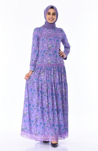 Lilac Dress 8Y3822300-01