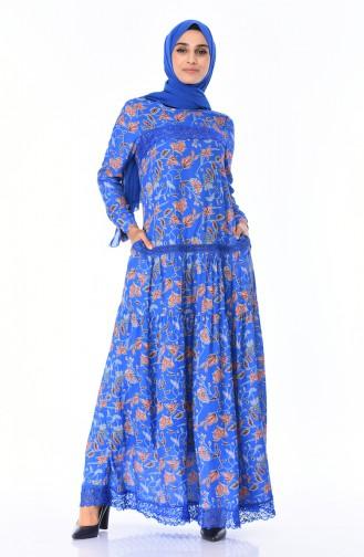 Spitzen Detailliertes Kleid 8Y3822300-02 Saks 8Y3822300-02