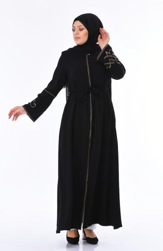 Black Abaya 5934-01