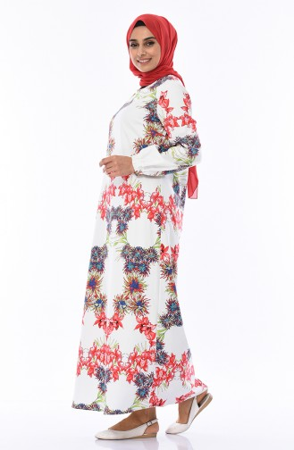 فستان أحمر 1009-01