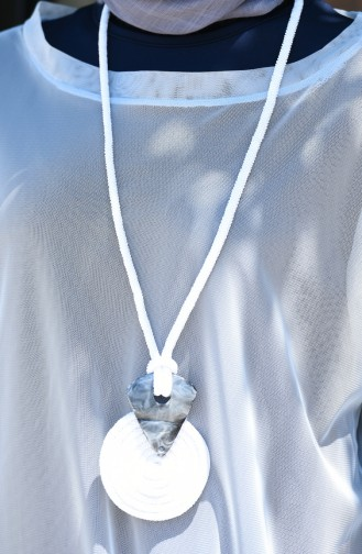 White Necklace 118