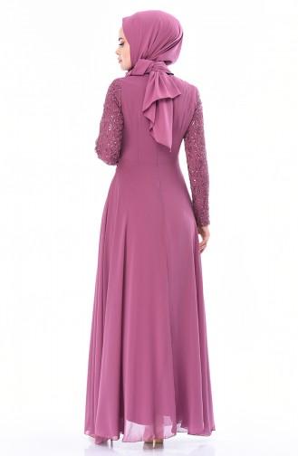 Habillé Hijab Rose Pâle 52759-01