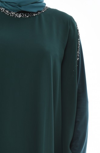 Emerald Islamic Clothing Evening Dress 4007-06