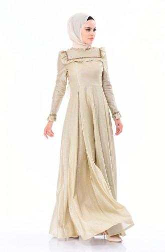 Habillé Hijab Or 7013-01