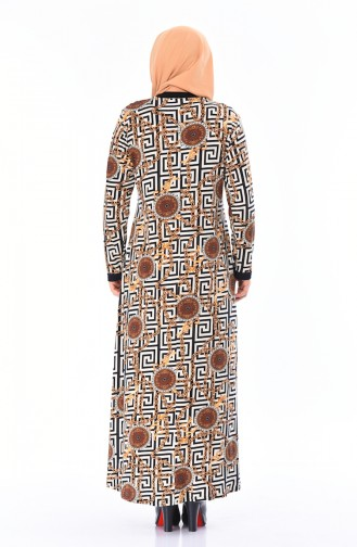 فستان أزرق كحلي 4550B-01