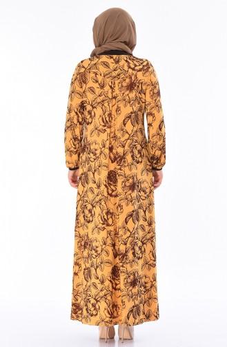 Yellow Hijab Dress 5Y3517505-01