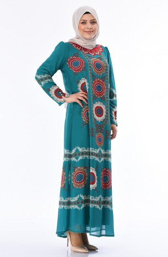 Oil Blue Dress 6Y3608425-03