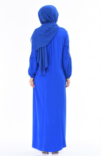 Robe Manches élastique 8Y3836100-01 Bleu Roi 8Y3836100-01