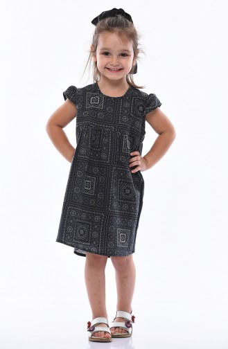 Navy Blue Kinderjurk 1001-01