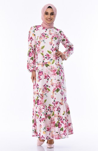 فستان باودر 1005-01