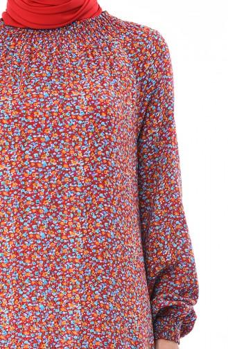 Turquoise Dress 0082-04