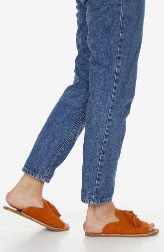 Sandales a Franges 2180-22 Orange 2180-22